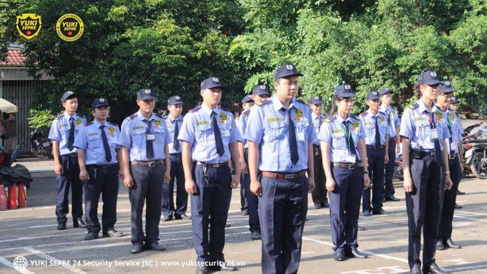 công ty bảo vệ YUKI - bảo vệ khu đô thị
